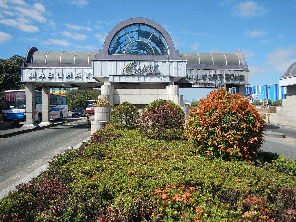Clark Philippines Main Gate