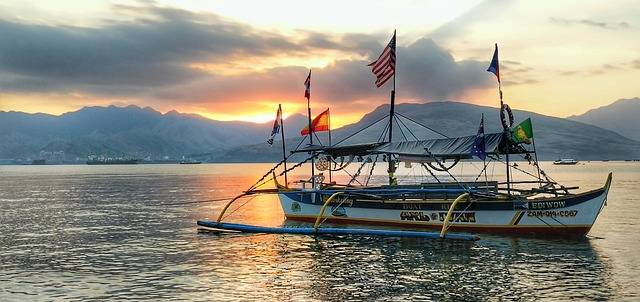 Subic Bay outrigger boat